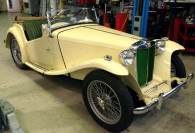 1949 MG TC EXU